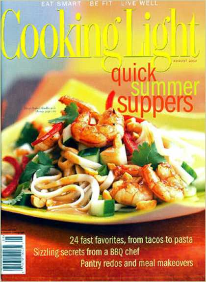 Cooking Light - Spicy Peanut Noodles with Shrimp
