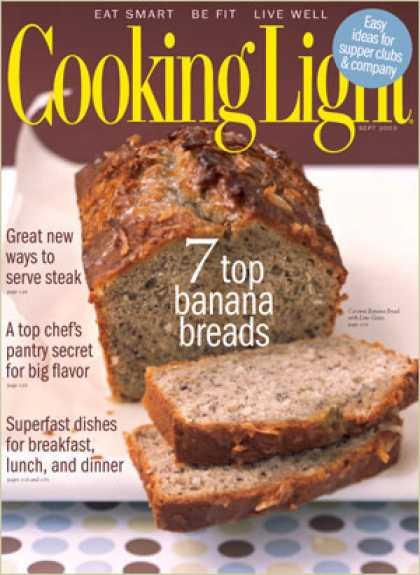 Cooking Light - Coconut Banana Bread with Lime Glaze