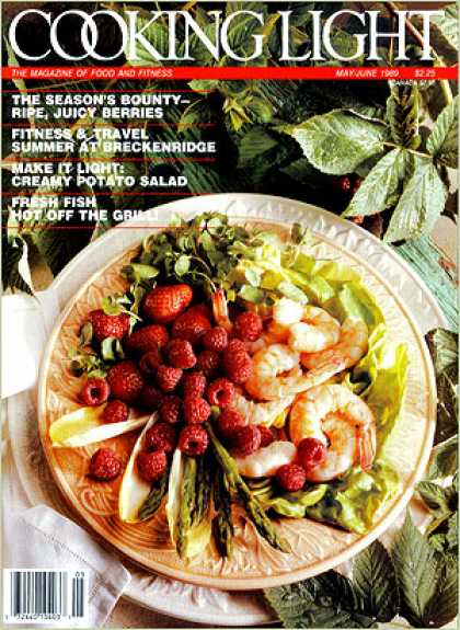 Cooking Light - Fresh Berries with Shrimp and Vegetables