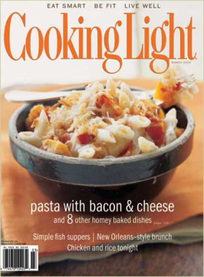 Cooking Light - Roasted Butternut Squash and Bacon Pasta