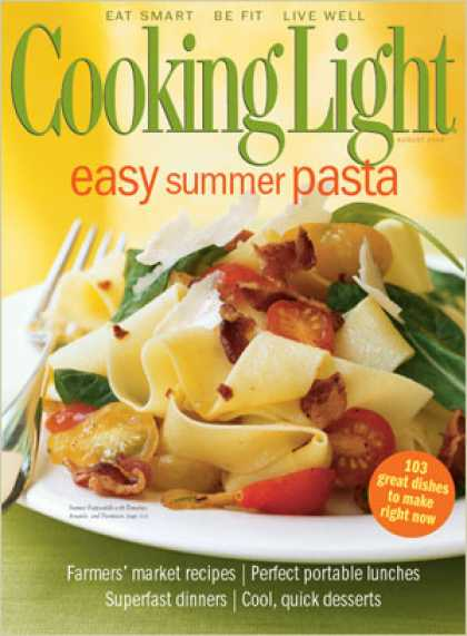 Cooking Light - Summer Pappardelle with Tomatoes, Arugula, and Parmesan