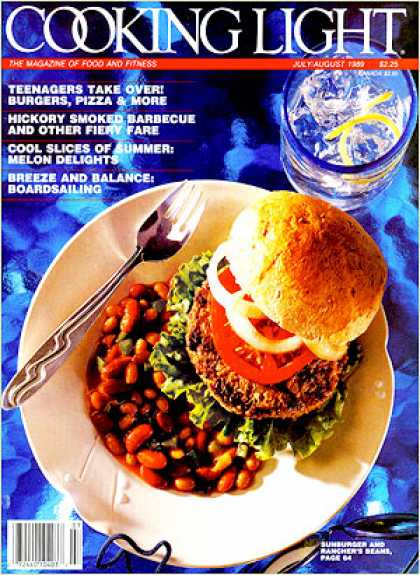 Cooking Light - Sunburger - Rancher's Beans