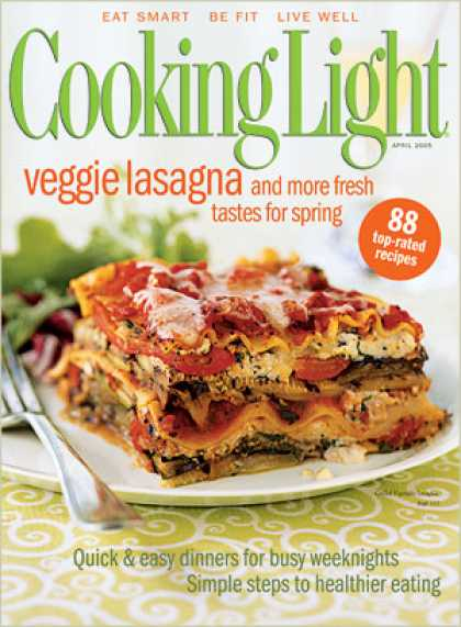 Cooking Light - Grilled Vegetable Lasagna