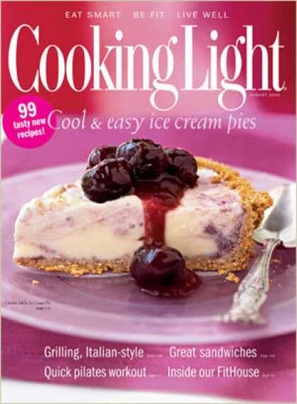 Cooking Light - Cherries Jubilee Ice Cream Pie