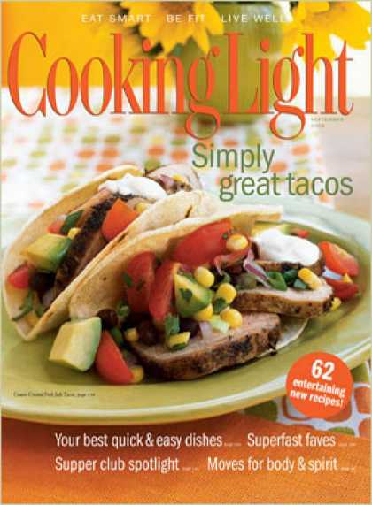 Cooking Light - Cumin-Crusted Pork Soft Tacos