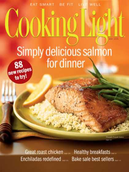 Cooking Light - Pineapple Teriyaki Salmon
