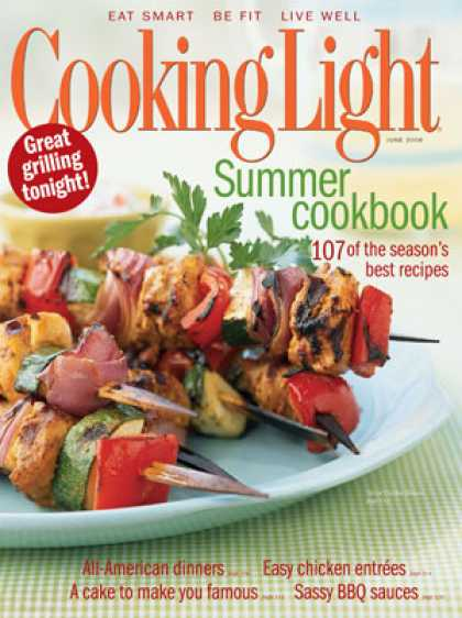 Cooking Light - Spiced Chicken Skewers