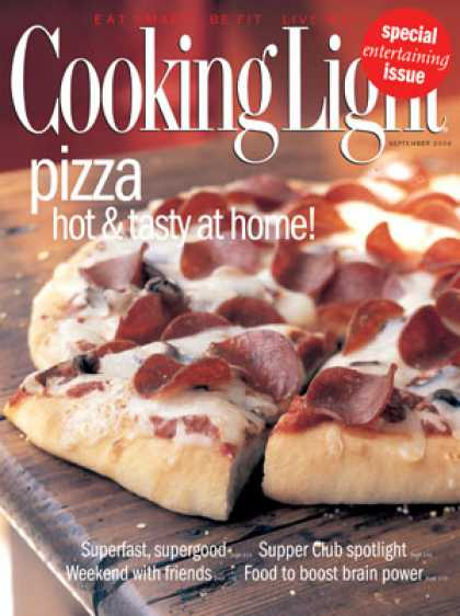 Cooking Light - Pepperoni Pizza