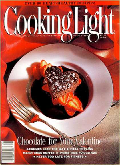 Cooking Light - Strawberry Filled Chocolate Cake Hearts