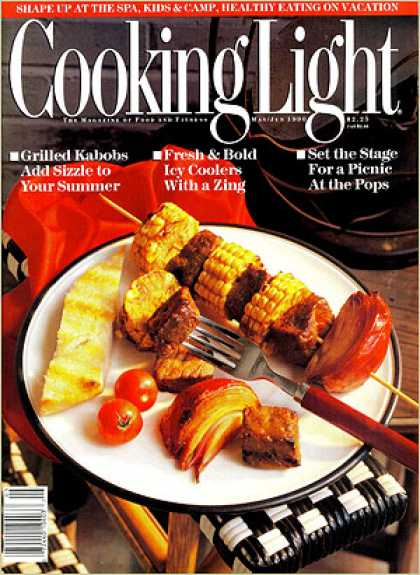 Cooking Light - Indian Beef Kabobs with Corn