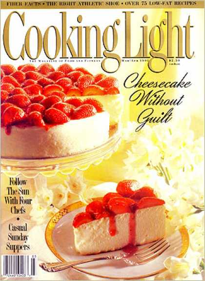 Cooking Light - Strawberry Amaretto Cheesecake