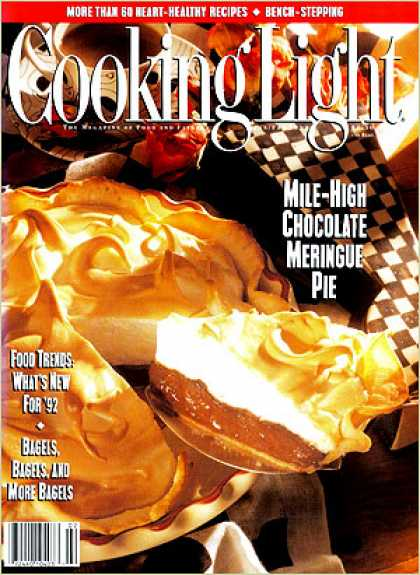 Cooking Light - Mile-High Chocolate Meringue Pie