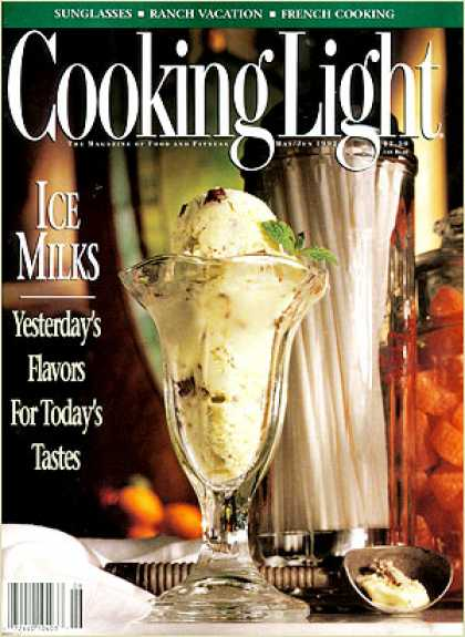 Cooking Light - Mint Chocolate Chip Ice Milk