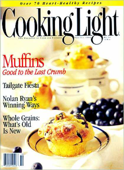 Cooking Light - Blueberry-Yogurt Muffins