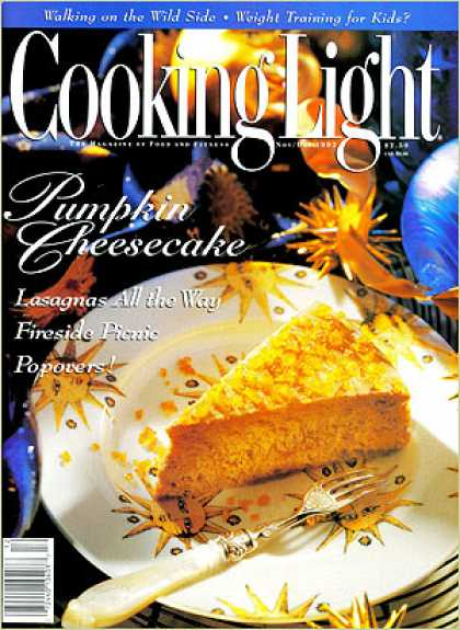 Cooking Light - Pumpkin Cheesecake