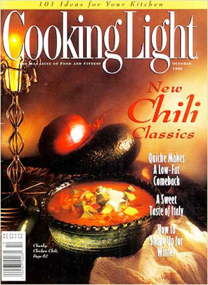 Cooking Light - Chunky Chicken Chili