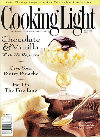 Cooking Light - Vanilla Ice Milk with Mocha Fudge