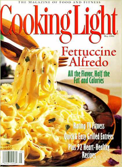Cooking Light - Fettucine Alfredo