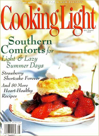 Cooking Light - Strawberry Shortcake