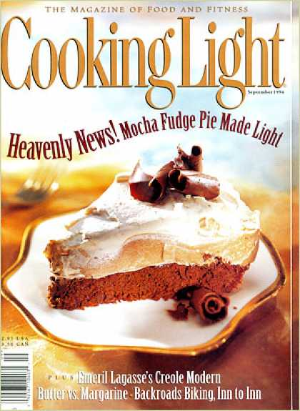 Cooking Light - Mocha Fudge Pie