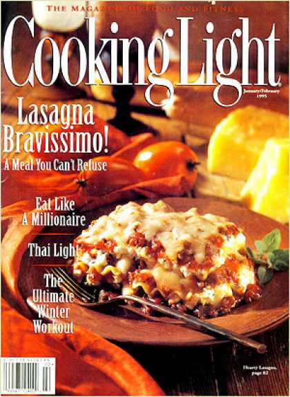 Cooking Light - Hearty Lasagna