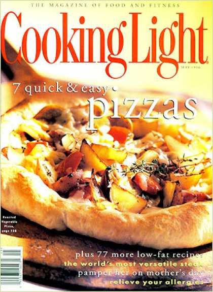 Cooking Light - Roasted-Vegetable Pizza