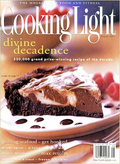 Cooking Light - Brownie Cheesecake Torte