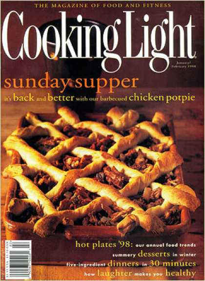 Cooking Light - Barbecued-Chicken Potpie