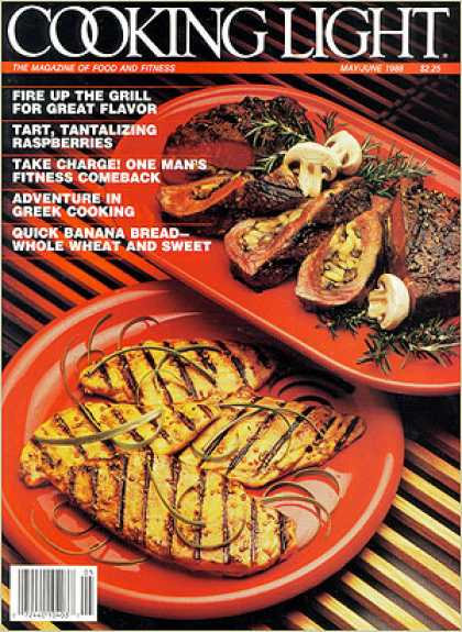 Cooking Light - Quick Sesame-Ginger Chicken - Mushroom-Rosemary Stuffed Steak