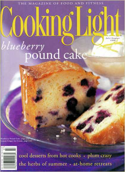 Cooking Light - Blueberry Pound Cake