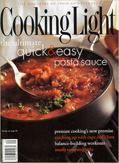 Cooking Light - Ultimate Quick-and-Easy Pasta Sauce
