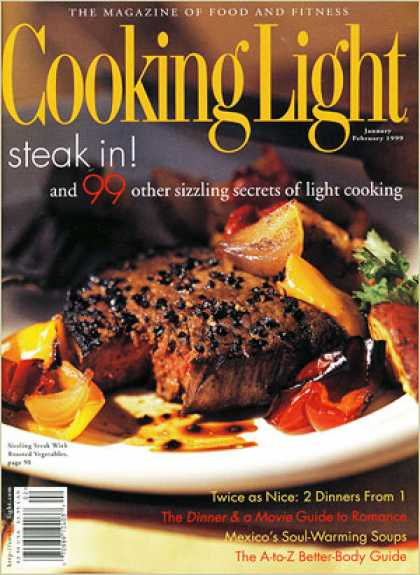 Cooking Light - Sizzling Steak with Roasted Vegetables