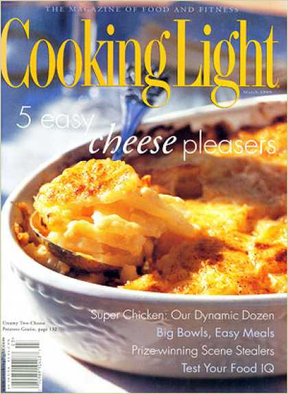 Cooking Light - Creamy Two-Cheese Potatoes Gratin