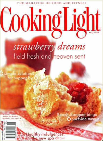 Cooking Light - Strawberry-Orange Muffins