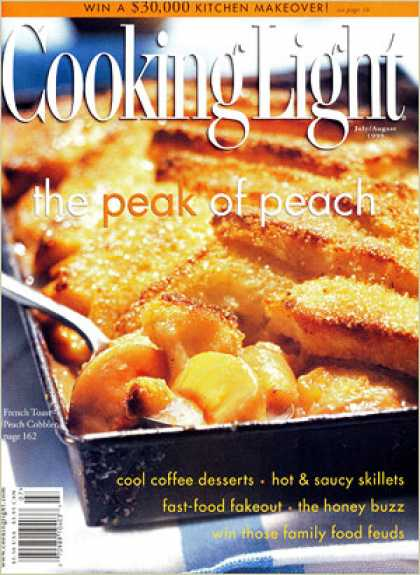 Cooking Light - French Toast-Peach Cobbler