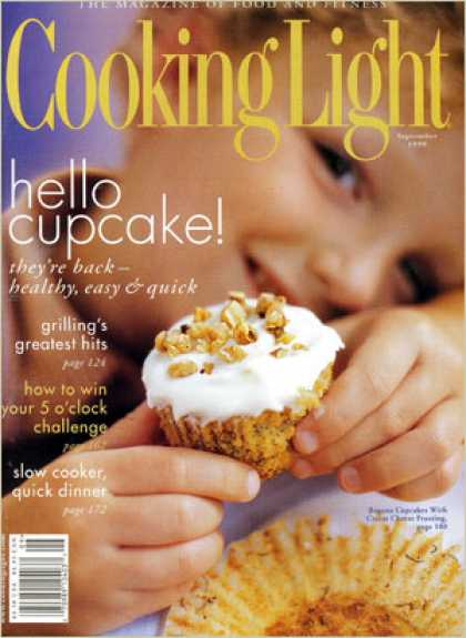 Cooking Light - Banana Cupcakes with Cream Cheese Frosting