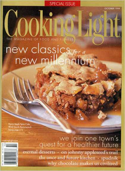 Cooking Light - Nutty Apple Spice Cake with Quick Butterscotch Sauce