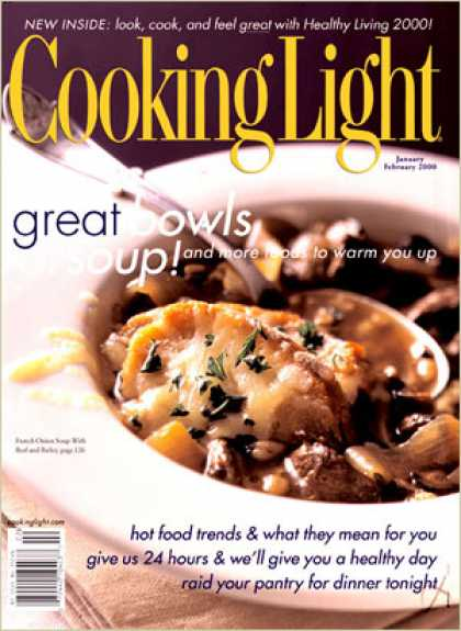 Cooking Light - French Onion Soup with Beef and Barley