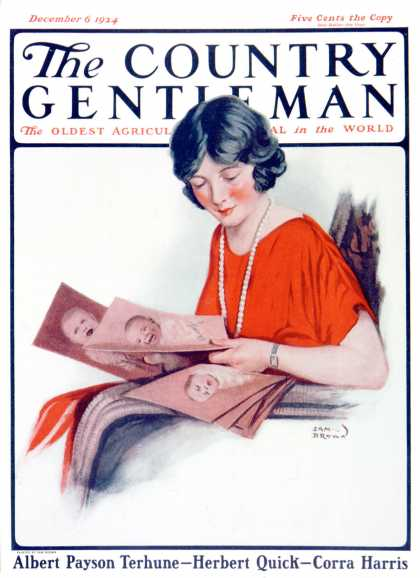 Country Gentleman - 1924-12-06: Baby Photos (Sam Brown)