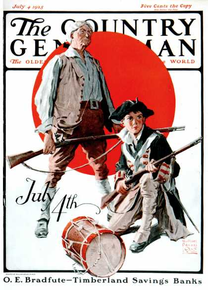 Country Gentleman - 1925-07-04: Revolutionary Soldiers (WM. Meade Prince)