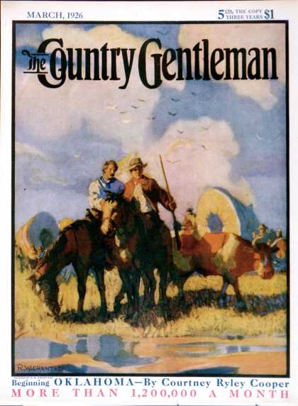 Country Gentleman - 1926-03-01: Wagon Train (R.W. Crowther)