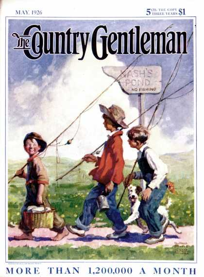 Country Gentleman - 1926-05-01: Going Fishing (WM. Meade Prince)
