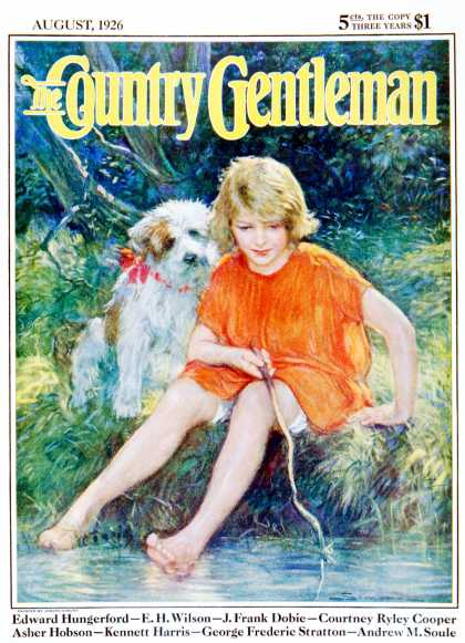 Country Gentleman - 1926-08-01: Lazy Summer Day (Joseph Simont)