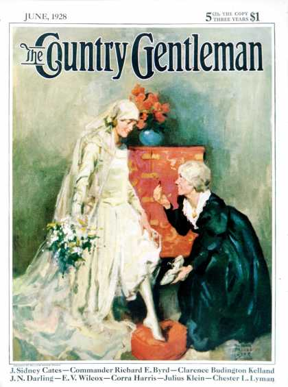 Country Gentleman - 1928-06-01: Something Old, Something New (WM. Meade Prince)