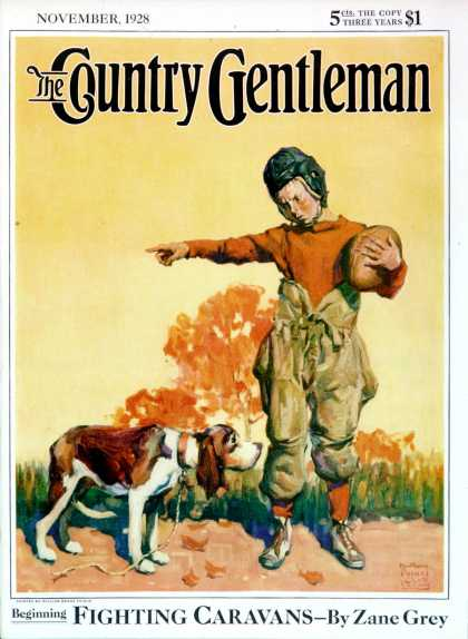 Country Gentleman - 1928-11-01: Go Home, Boy! (WM. Meade Prince)