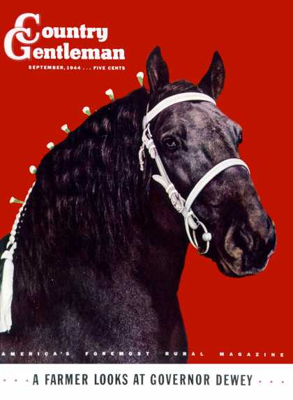 Country Gentleman - 1944-09-01: Prize Draft Horse (Salvadore Pinto)