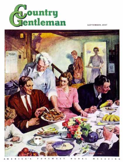 Country Gentleman - 1947-09-01: Second Helping (Lealand Gustavson)