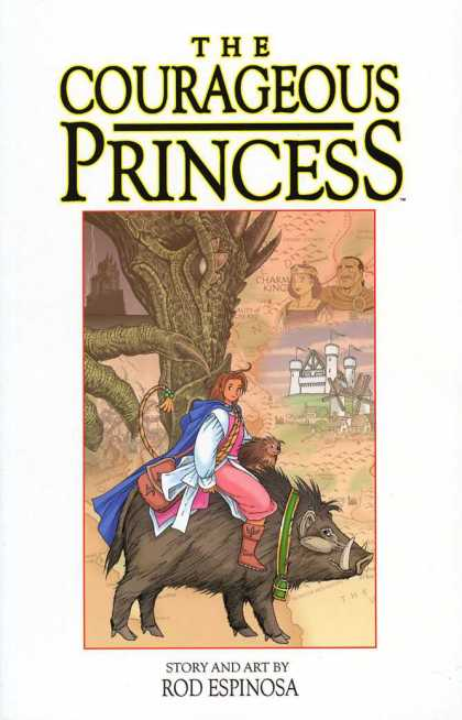 Courageous Princess 1 - Rod Espinoza - Anial - Claws - Castle - Warthog
