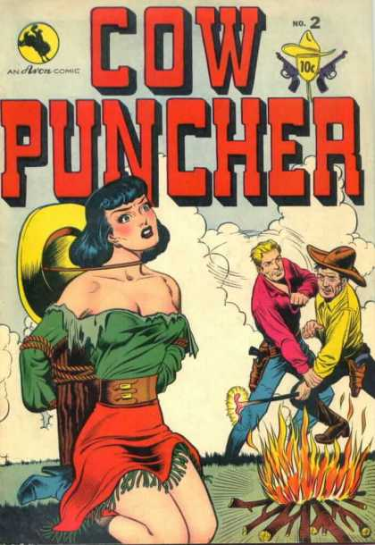 Cow Puncher 2 - No 2 - Cowgirl - Fire - Cowboys - Fight