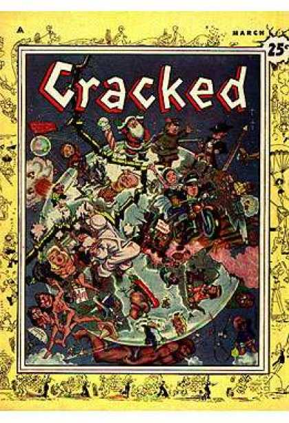 Cracked 1 - World - Disaster - Crack - Santa - Indians - Bill Everett